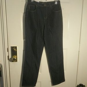 Size 8 tapered high rise Style & Co women's jeans